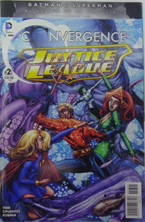 Dc Convergence Justice League 2 De 2 Comic Televisa #2