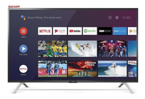 Smart Tv Led 32 Semp Wifi Bluetooth® Comando De Voz 32s5300