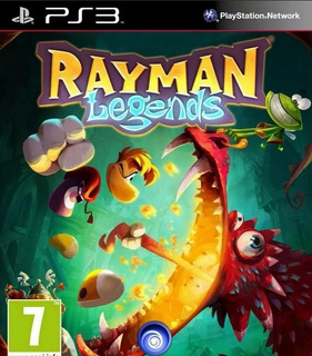 Rayman Legends Ps3 -play Mexico