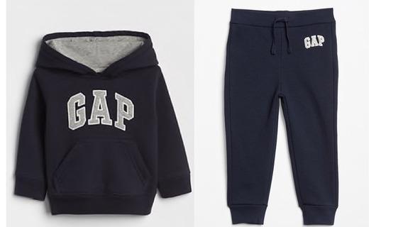 Conjunto Gap Sudadera Y Pantalon Marino Nuevo Talla 2 3 4 5