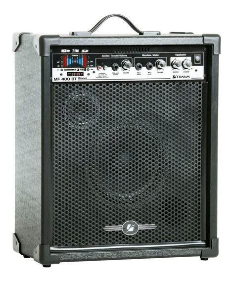 Caixa Amplificada Mf400 Bt, Usb, Sd,fm 60w Rms - Frahm