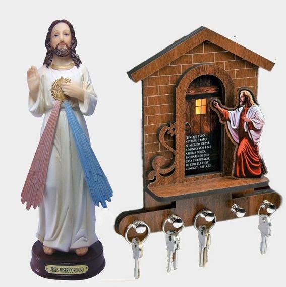 Porta Chaves E Imagem Jesus