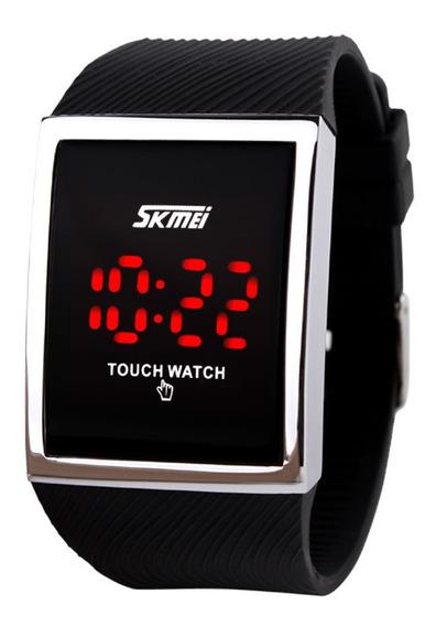 Tela De Toque Digital Watch Black
