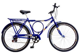 Bicicleta Barra Forte Circular Com 6 Marchas Aros Vzan Aero