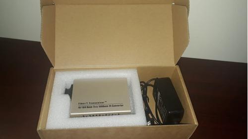 Ethernet Media Converter Sc/mm, 1000m Dual Fiber, 1310nm  2k
