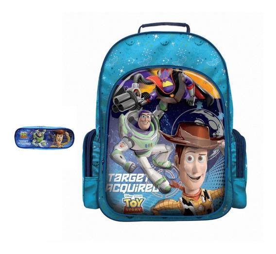 Mochila Escolar Costa Toy Story Dermiwil Estojo