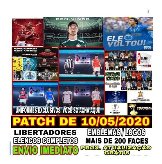 Patch 2020 Pes2018 Ps3 Atualizado Uniformes 2020