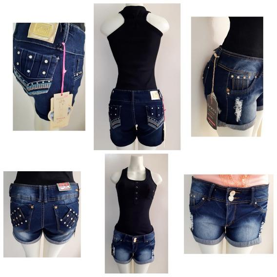 adb36090aebe Shorts Altos De Jeans Para Dama - Pantalones para Mujer en Mercado ...