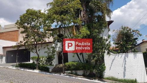 Sobrado Com 4 Dormitórios À Venda, 260 M² Por R$ 1.350.000,00 - Brooklin Paulista - São Paulo/sp - So3299