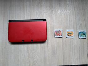 Nintendo 3ds Com 3 Jogos