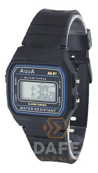 Relógio Barato Aqua À Prova Dagua Aq-81 Melhor Custo Benefic