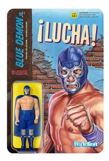 Super 7 Reaction Lucha Libre Blue Demon Jr