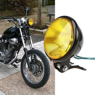 Farol Clássico Harley Bobber Brat Scrambler Shadow Cafe