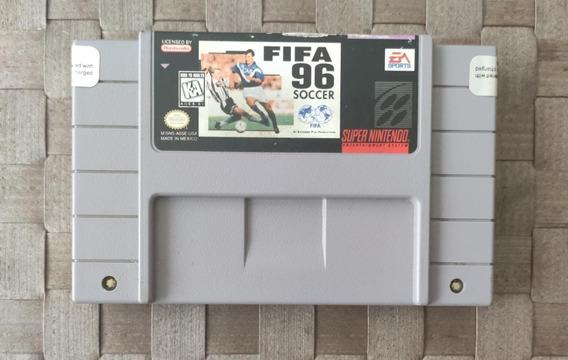 Game Fifa Soccer 96 Original Futebol Snes Super Nintendo