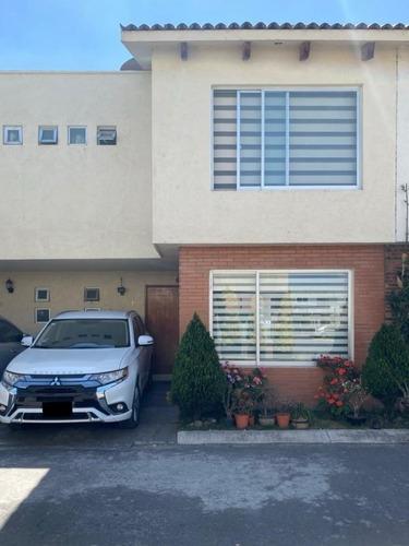 Casa En Venta, Privada En San Mateo Atenco