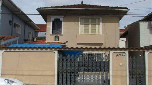 Imagem 1 de 7 de Sobrado Com 3 Dorms, Campo Grande, Santos - R$ 795 Mil, Cod: 119 - V119