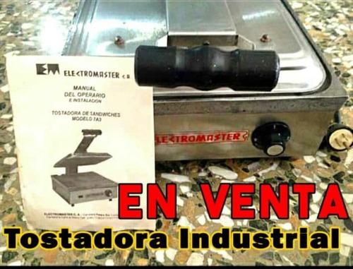 Plancha Sandwichera Industrial 110v