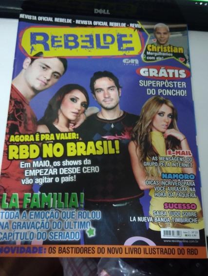 Revista Rebelde Oficial Ano 2 N°23
