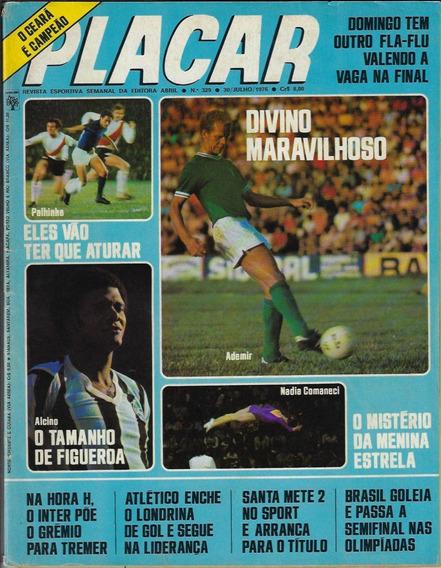 1976 Revista Placar Nº 329 Ed Abril Pôster Marinho Botafogo