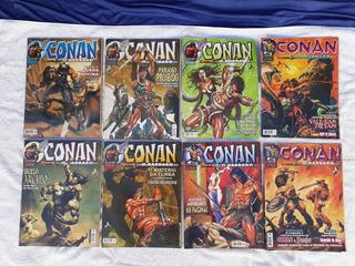 Conan O Bárbaro 1995 Abril 8 Hq Gibi Semi-novo Formato Grand
