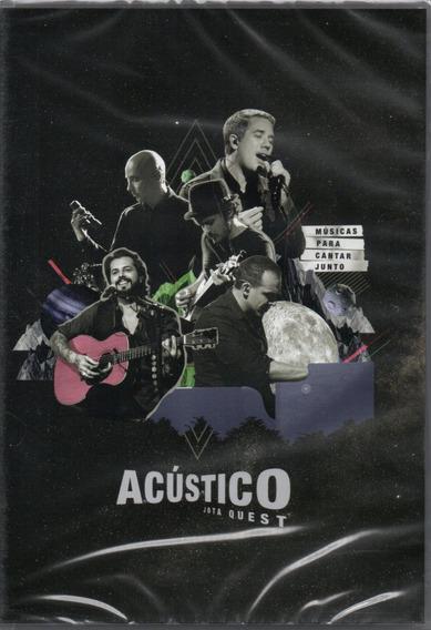 Dvd Jota Quest - Acústico / Músicas Para Cantar Junto 2017