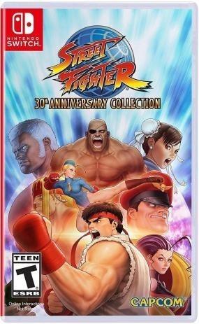 Jogo Nintendo Switch - Seminovo - Street Fighter