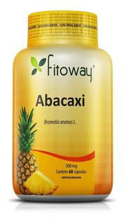Abacaxi Fitoway 500mg 60 Cápsulas