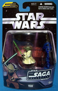 Yoda The Saga Collection!!