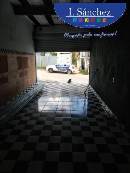 Salão Comercial Para Locação Em Itaquaquecetuba, Ribeiro, 1 Banheiro - 200305a_1-1372327