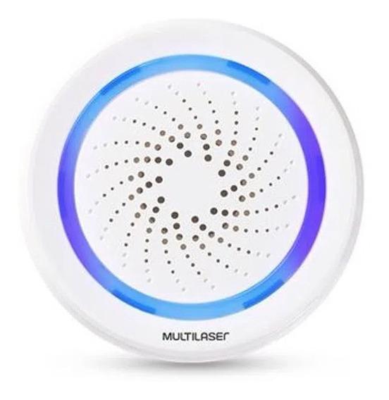 Sirene De Alarme Inteligente Wi-fi - Se232 Multilaser Liv