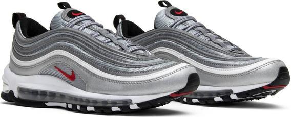 Zapatillas Nike Air Max 97 ! Silver Bullet Metalic! La Mejor
