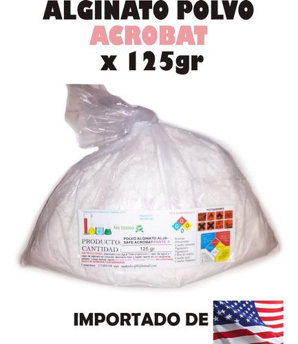 Alginato Polvo Moldes Manos Y Mascaras X 125gr