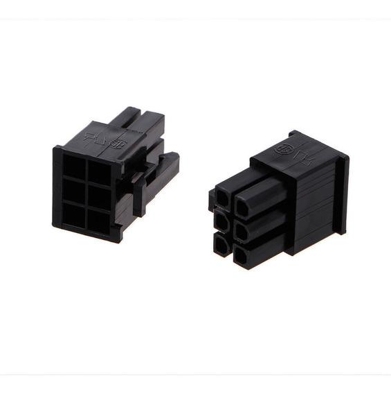 5xconector Pci-e Macho De 6 Pines 4.2mm