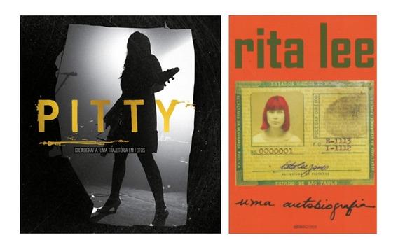 Livros Vida E Obra Musical De Pitty & Rita Lee Frete Grátis