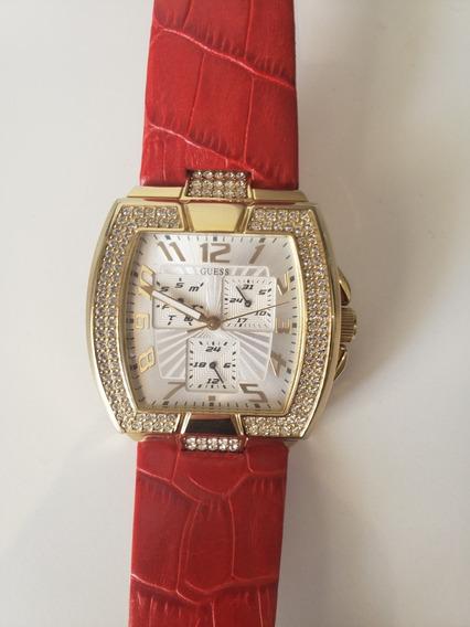 Relógio Original Guess - Vermelho