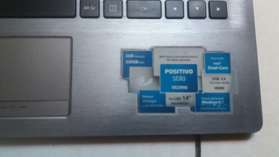 Notbook Positivo Xr2990