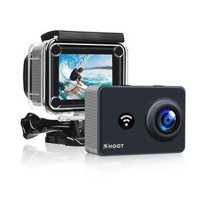 Shoot Xtgp436 4k Wi-fi Ação Câmera 2.4g Remoto 1080p 14mp
