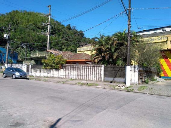 Terreno, Chico De Paula, Santos - R$ 500 Mil, Cod: 11346 - V11346