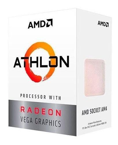Processador Amd Athlon 200ge 3.2ghz 4mb Cache Am4