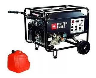 Grupo Electrógeno Generador Porter Cable 13hp 5kva + Bidón