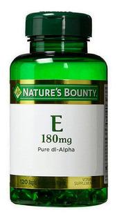 Natures Bounty Antioxidante Vitamina E 120 Capsulas