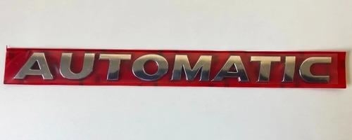 Emblema Insígnia Automatic Para Vw Amarok U Otros Modelos