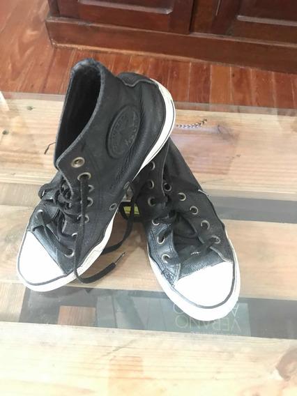 Zapatillas All Star Unisex Cuero Bota