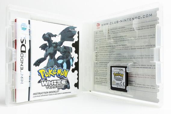 Jogo Pokemon White (para Nintendo Ds) - Versão Européia