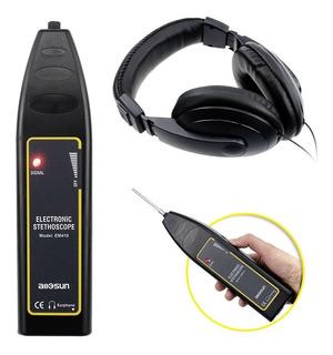 Estetoscopio Eléctrico Buscador Detector Ruido Con Auricular