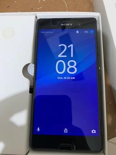 Smartphone Sony Xperia Z3 Dual Chip Com Problemas Na Camera