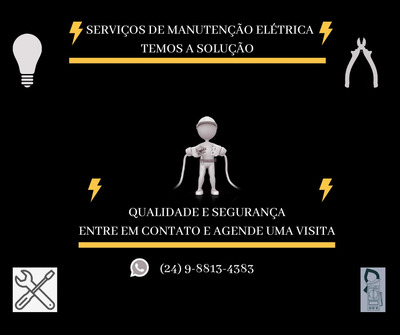 Serviços De Manutenção Elétrica Predial.
