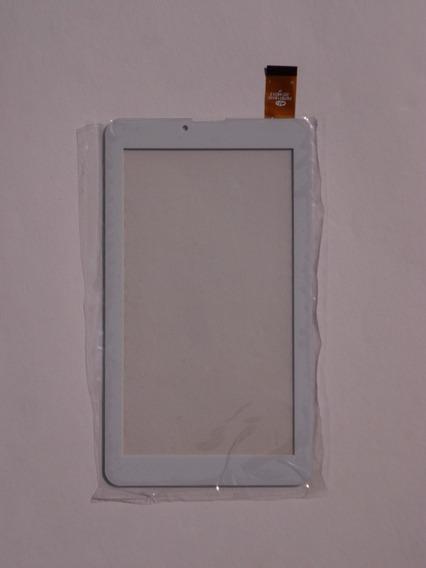 Tela Touch Screen Tablet Qbex Zupin Tx300 Tx340i Branco