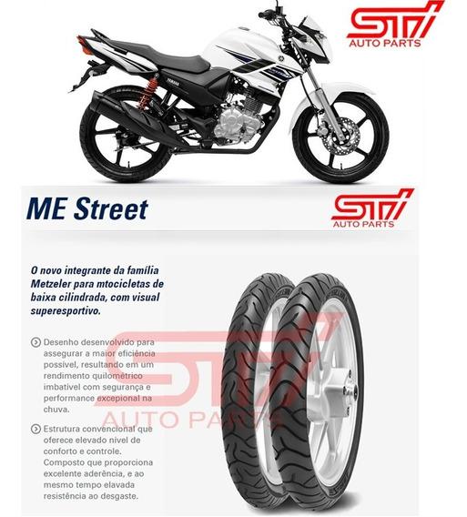 Par Pneu Metzeler Yamaha Fazer 150cc 2.75 - 18 100/80-18