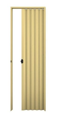 Porta Sanfonada Plasbil Areia 100cm X 210cm